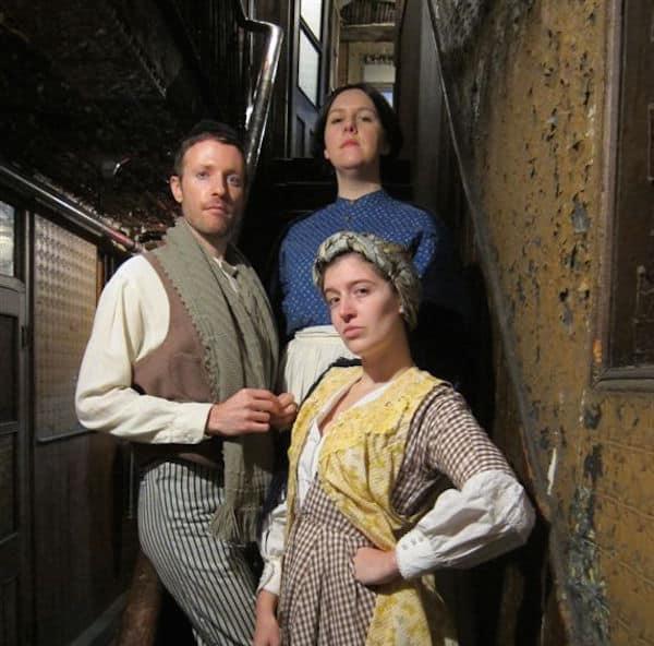 Actors at the Tenement Museum