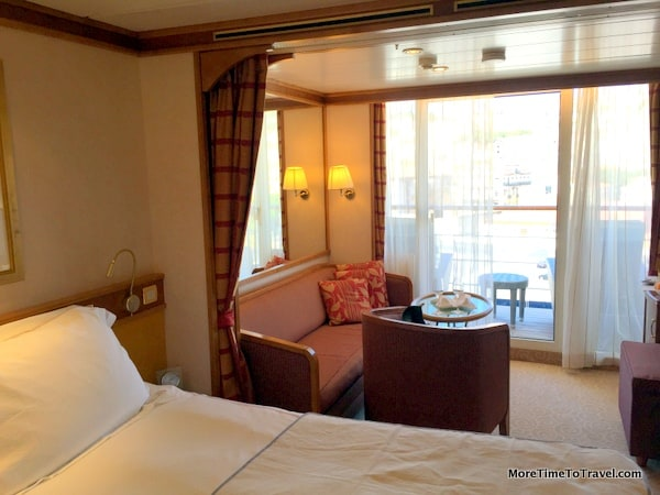 Cabin 1022, a concierge suite on Regent Seven Seas Mariner