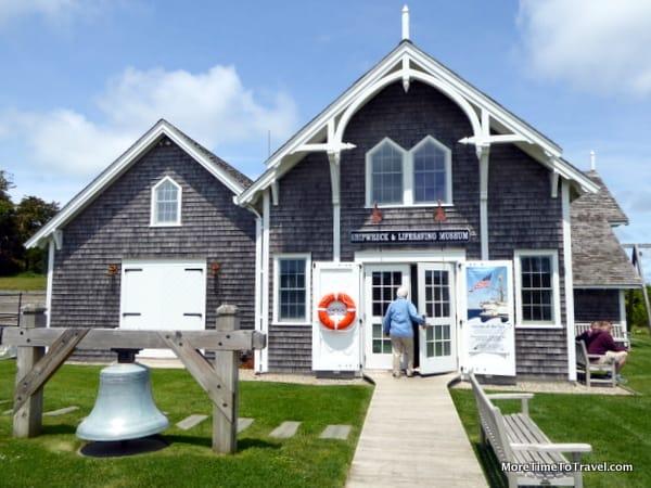 Exterior of Shipwreck and Lifesaving Museum