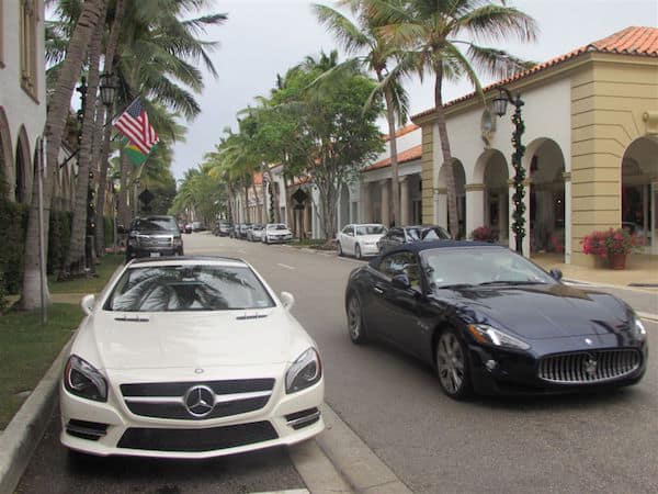 Worth Avenue: Money & Cars (Credit: John and Sandra Nowlan)