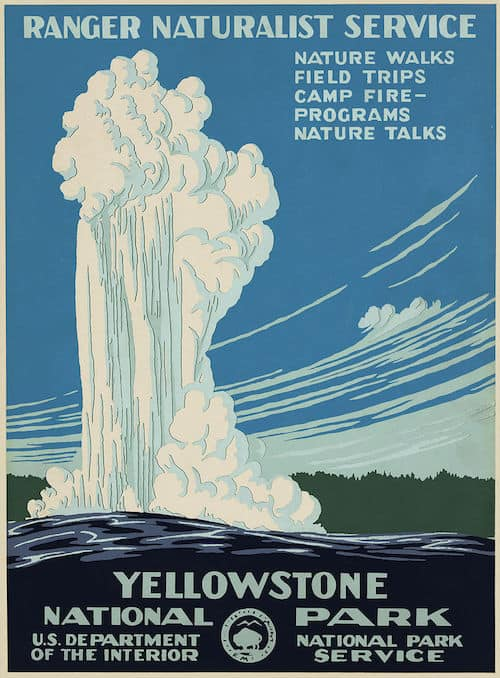 A vintage 1938 poster from the National Park Service (Photo credit: Wikipedia)