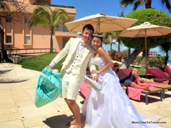 Destination wedding at Grand Fiesta Americana, Coral Beach, Cancun