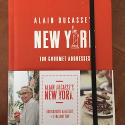 Book Review and Giveaway – Alain Ducasse's New York: 100 Gourmet Addresses (contest ended)
