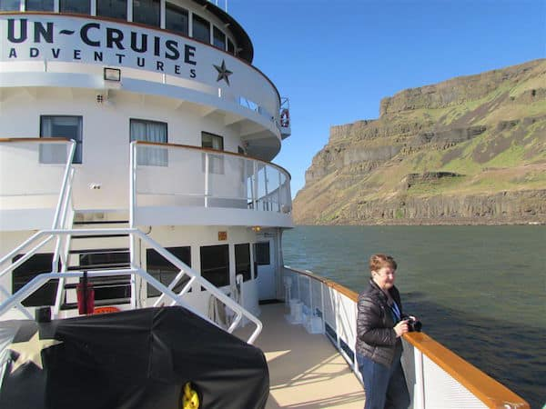 Cruising the Columbia River with Un-Cruise Adventures