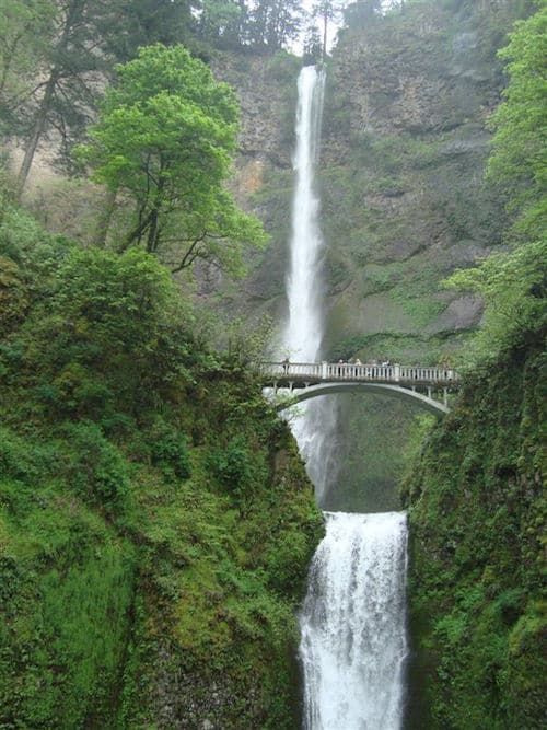 Magnificent Multnomah Falls