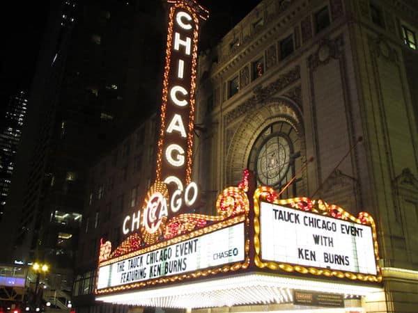 Chicago Theatre Marquee