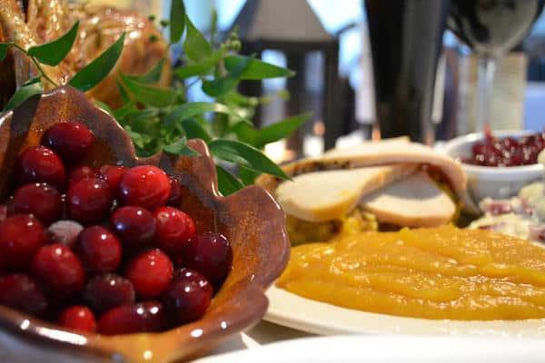 Thanksgiving Dinner at Plimouth Plantation (screenshot) - Credit: Plimouth Plantation