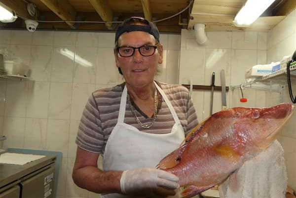Fresh Hogfish at The Fish House