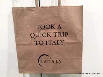 Logo shopping bag from Italy