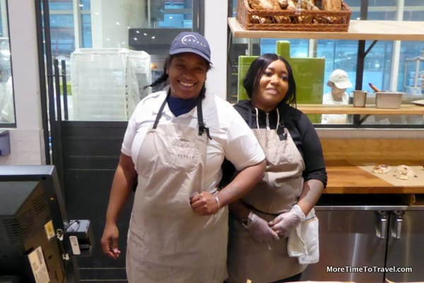 Bread ladies at Eataly NYC Downtown