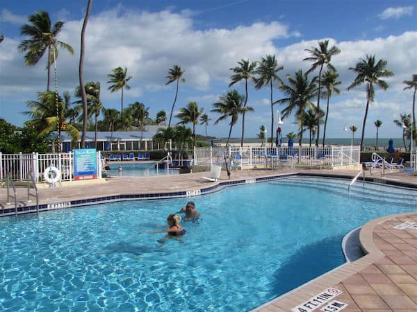 Salt Water Pool at Islander Resort