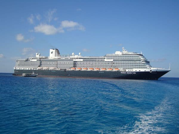 Koningsdam in the Bahamas