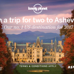 Win a trip to Asheville, North Carolina for two (contest ends 2/6/17)