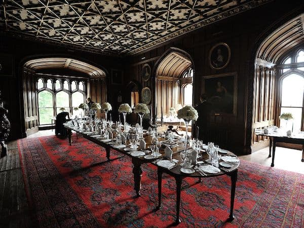 Inside Duns Castle (Photo credit: Homeaway)