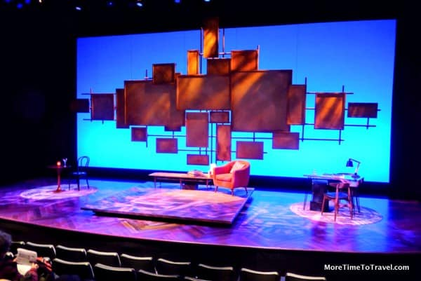 "The set for ""Not That Jewish"""