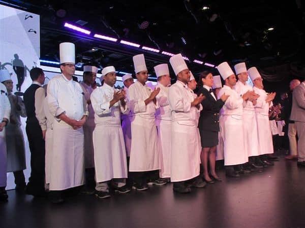 Chefs take a bow on Oceania Marina
