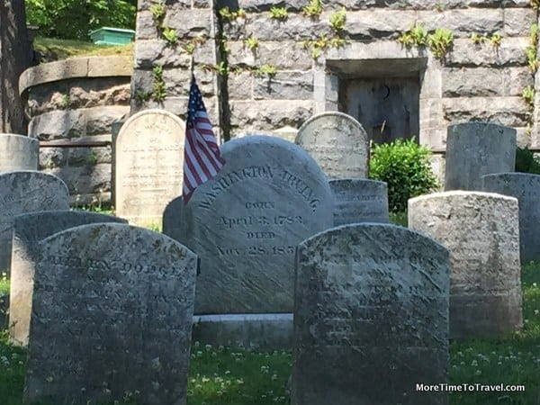 Washington Irving's Grave at Sleepy Hollow Cemetery