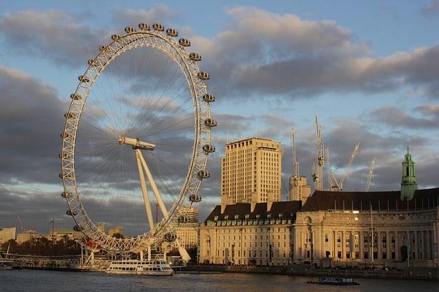 The London Eye (Photocredit: Pixabay)
