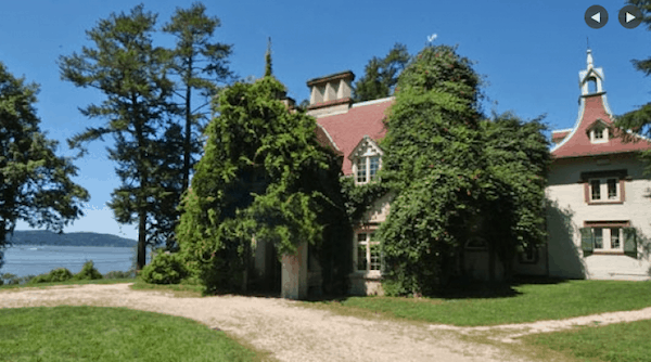 Washington Irving's Sunnyside (Photo credit: Historic Hudson Valley)