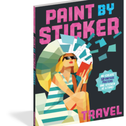 GIVEAWAY: Paint by Sticker Travel for Adults (contest ends 5/15/17)