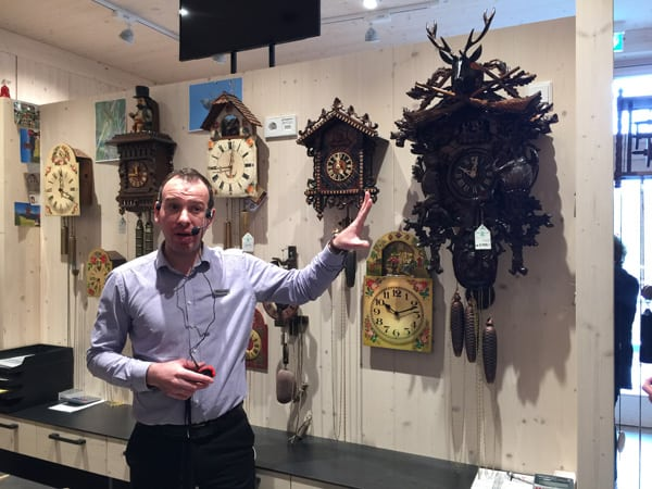 Cuckoo clock demonstration