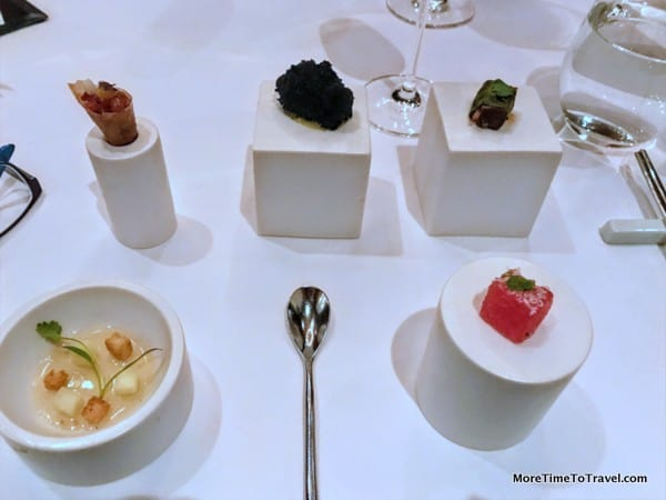Amuse bouche at Jungsip