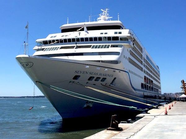 Regent Seven Seas Mariner in Lisbon (Credit: Jerome Levine)