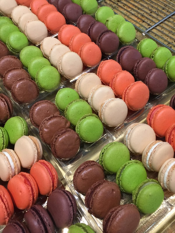 Macarons at Patisserie Christian in Strasbourg