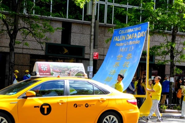 Falun Dafa Parade on 42nd Street