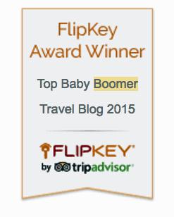 Flipkey Best Baby Boomer Travel Blog 2015