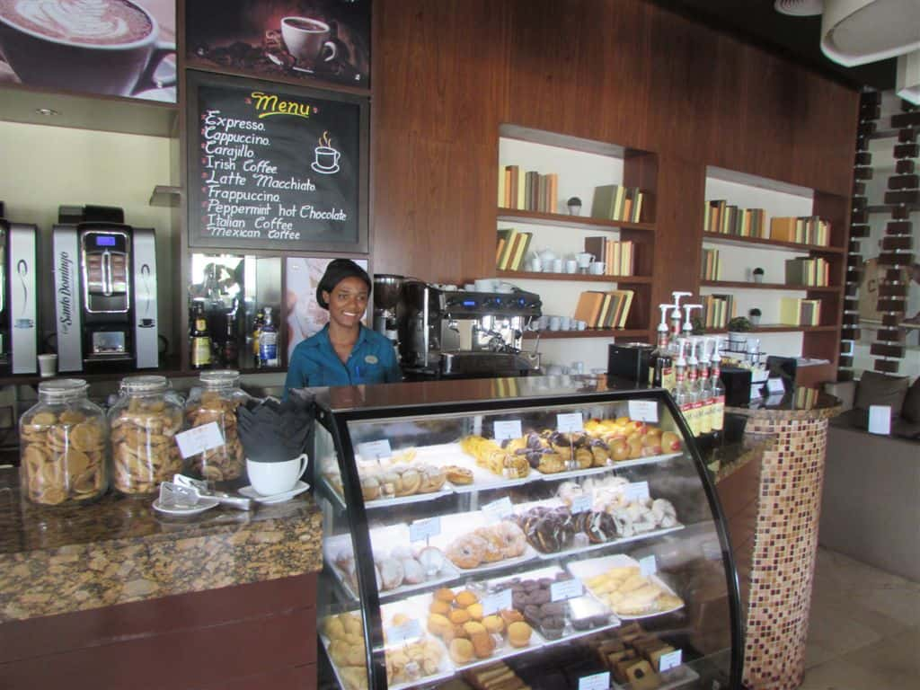 Complimentary pastries with a smile at Memories