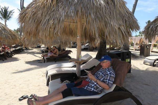 Free Wi-Fi on the beach at the Royalton