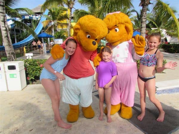 Girls with the Memories Mascots