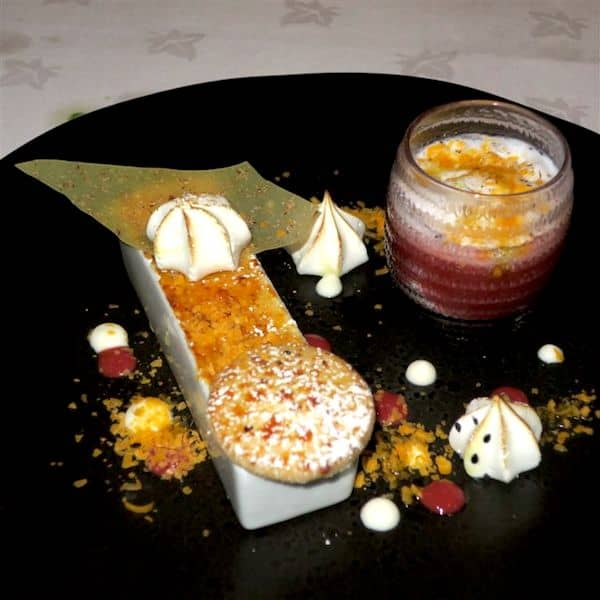 Dessert at 21212: Creativity packed with flavor