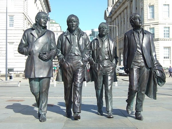 Beatles statue in Liverpool (Credit: Pixabay)
