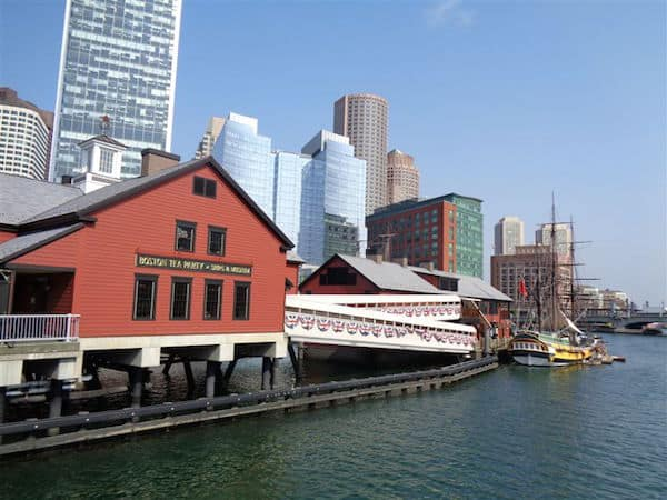 Tea Party Museum on the Boston Waterfront