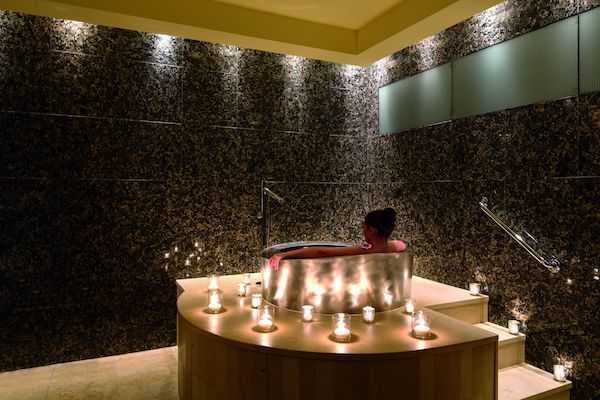 Sauna at the Ritz-Carlton Westchester Spa (Credit: Jerome Levine)