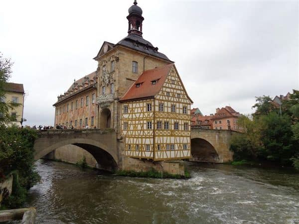 Ancient town hall in Bamberg