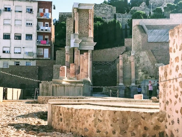Roman Theatre in Cartagena, Spain