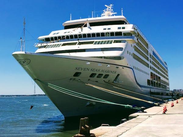 Seven Seas Mariner in Portugal (Credi: Jerome Levine)