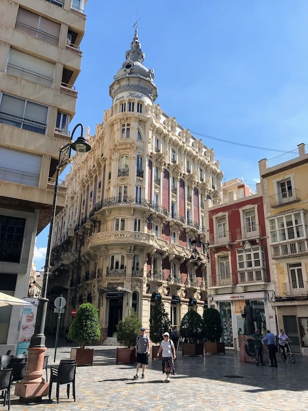 Grand Hotel in Cartagena, Spain