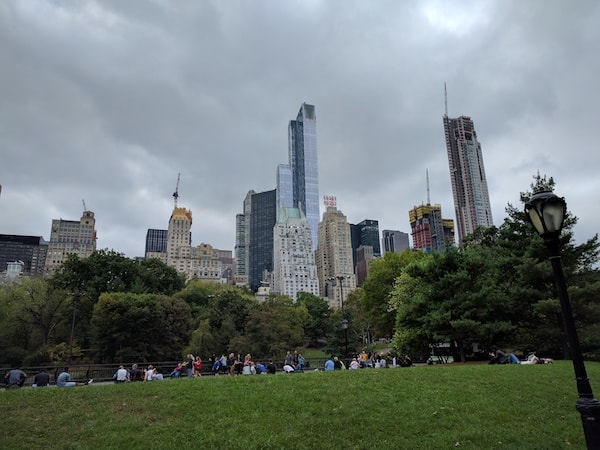 Central Park looking south (Credit: Andrew Levine)
