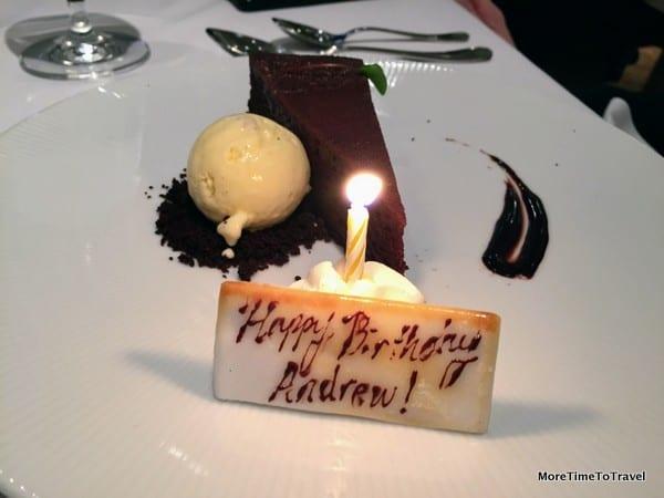 Birthday greetings from Gotham
