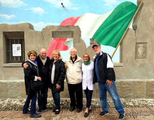 With boomer friends in Italy