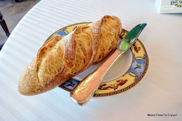 The bread plate