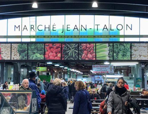 Interior of the Jean Talon Market