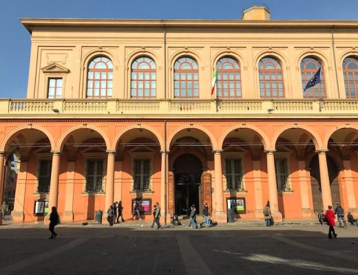 Masonry exterior of the Teatro Municipale di Bologna (Credit: Irene S Levine)