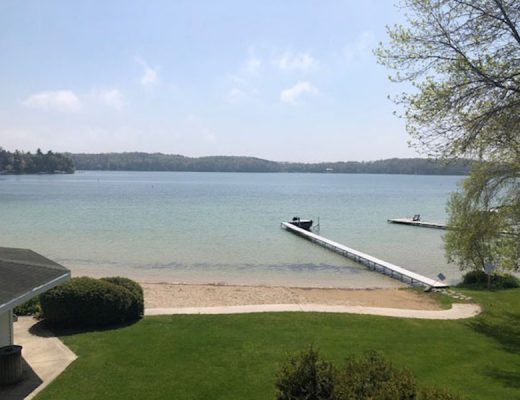 View of Elkhart Lake, Wisconsin