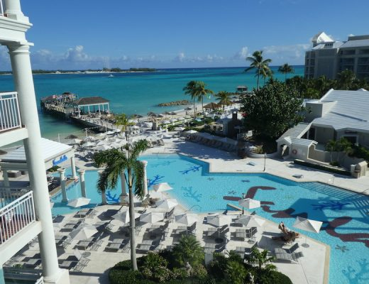 View of Sandals Resort from the Windsor Tower