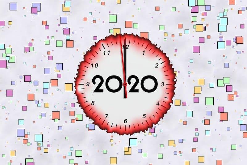 2020 New Year (Credit: Pixabay)